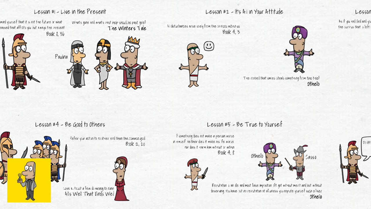 6 Life Lessons from Shakespeare & Marcus Aurelius Thumbnail